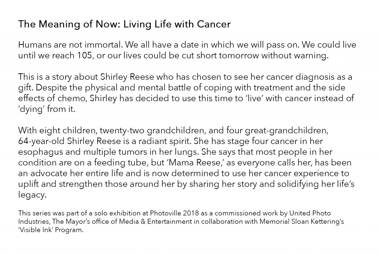 The Meaning of Now: Living Life with Cancer