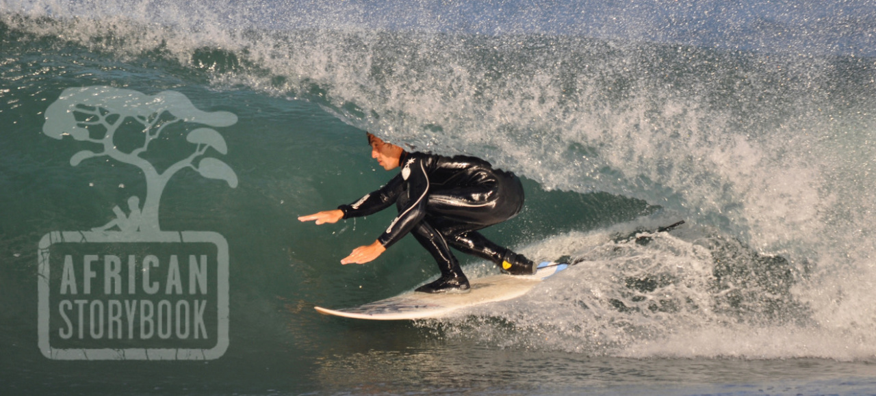 Surfing South Africa's Jeffreys Bay