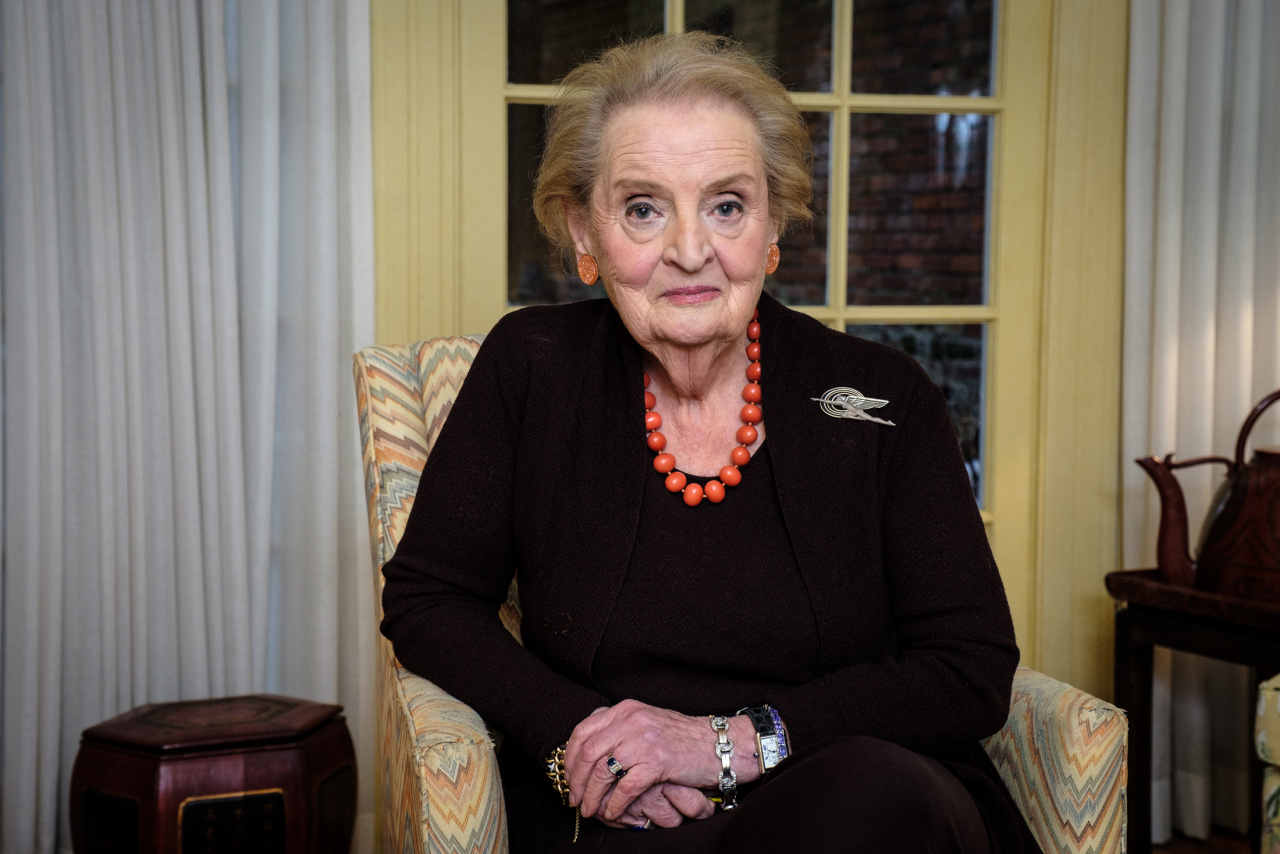 Madeleine Albright for the Financial Times