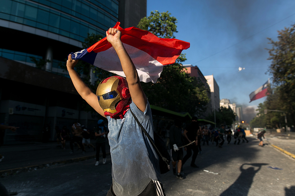 CHILE PROTEST OCTOBER 2019