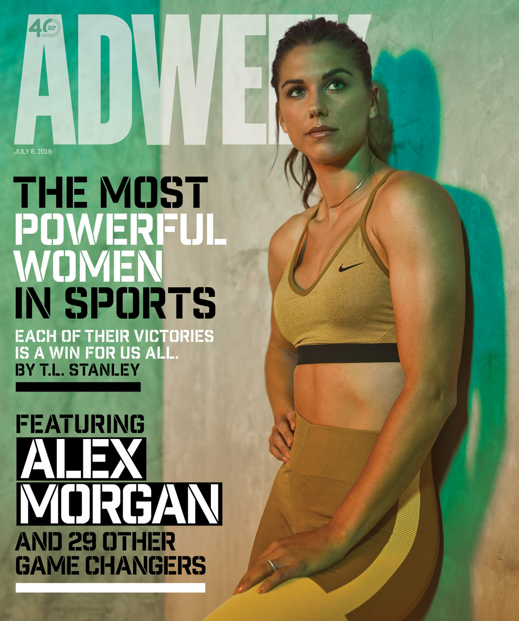 AdWeek Magazine | Alex Morgan