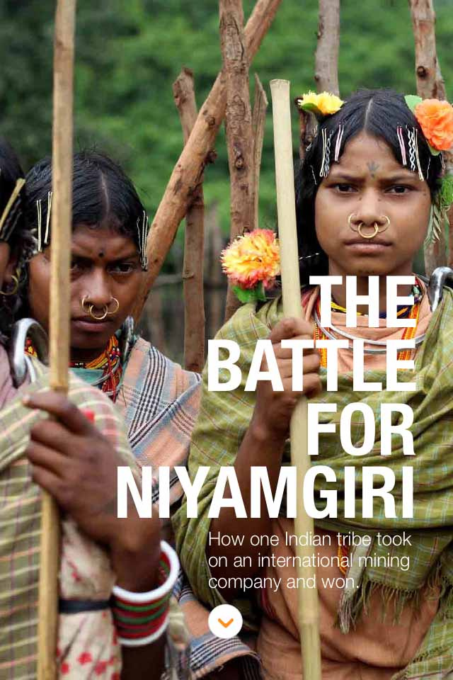 War Cry of Niyamgiri on AJE Magazine