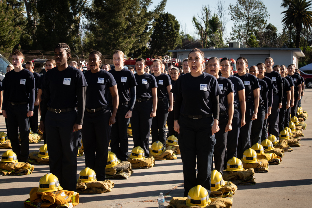 Women's Fire Prep Academy, Los Angeles
